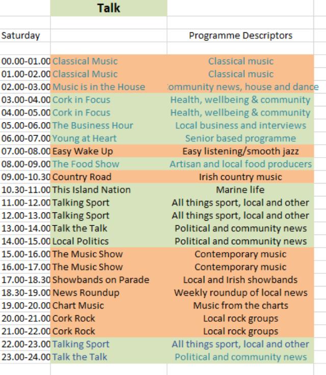 programme schedule2