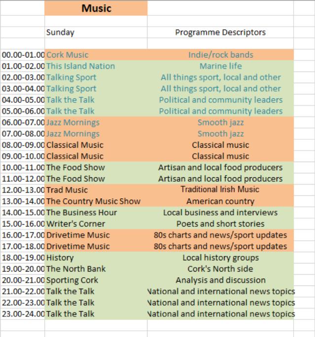 programme schedule3